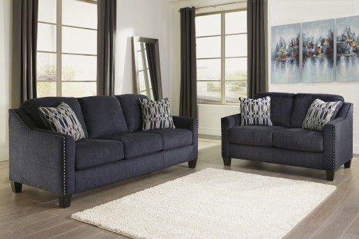 Ashley Creeal Heights 2pc Ink Sofa & Loveseat Set Available Online in Dallas Fort Worth Texas