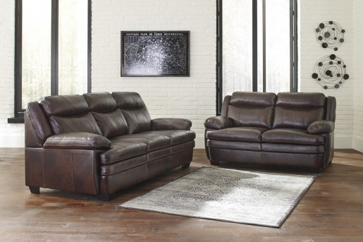 Ashley Hannalore 2pc Cafe Sofa & Loveseat Set Available Online in Dallas Fort Worth Texas