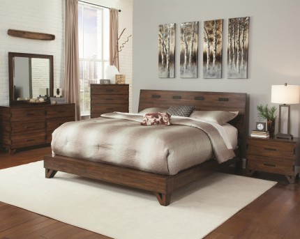 Coaster The Eastern 5pc King Bedroom Group Available Online in Dallas Fort Worth Texas