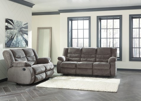 Ashley Tulen 2pc Grey Sofa & Loveseat Set Available Online in Dallas Fort Worth Texas