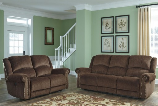 Ashley Goodlow Chocolate 2pc Sofa & Loveseat Set Available Online in Dallas Fort Worth Texas