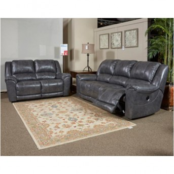 Ashley Persiphone 2pc Charcoal Reclining Sofa & Loveseat Set Available Online in Dallas Fort Worth Texas