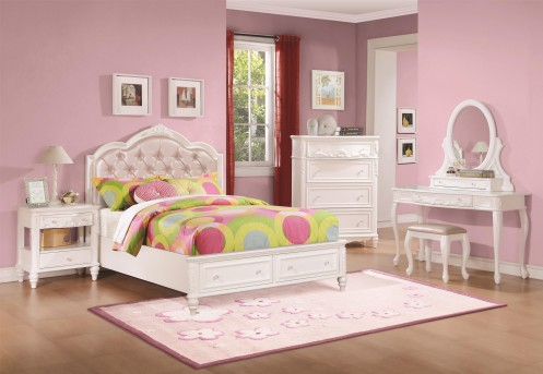 Coaster Caroline 5pc Full Storage Bedroom Group Available Online in Dallas Fort Worth Texas