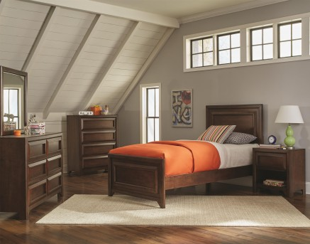 Coaster Greenough 5pc Twin Bedroom Group Available Online in Dallas Fort Worth Texas