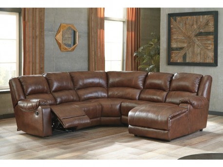 Ashley Billwedge 5pc Canyon Right Arm Facing Corner Chaise Sectional Available Online in Dallas Fort Worth Texas