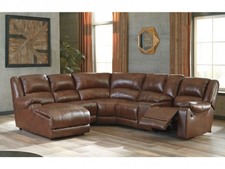 Ashley Billwedge 6pc Canyon Left Arm Facing Corner Chaise Sectional Available Online in Dallas Fort Worth Texas