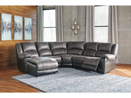 Ashley Nantahala 5pc Left Arm Facing Corner Chaise Sectional Available Online in Dallas Fort Worth Texas