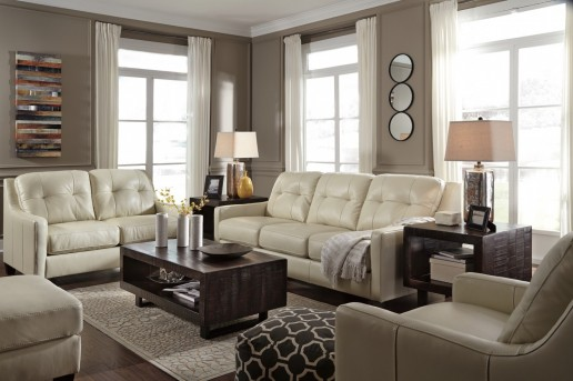 Ashley Parlone 3pc Deep Brown Coffee Table Set Available Online in Dallas Fort Worth Texas