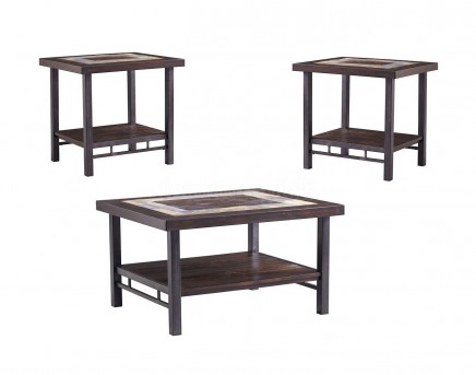 Ashley Gallivan 3pc Two Tone Coffee Table Set Available Online In Dallas  Fort Worth Texas