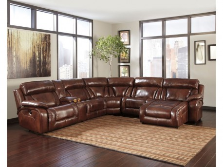 Elemen 6pc Harness Right Arm Facing Power Chaise Sectional Available Online in Dallas Fort Worth Texas