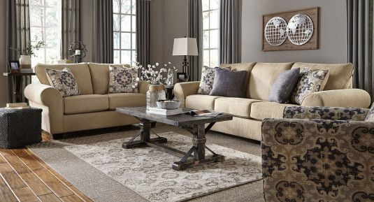 Ashley Beckendorf Black 3pc Coffee Table Set Available Online in Dallas Fort Worth Texas