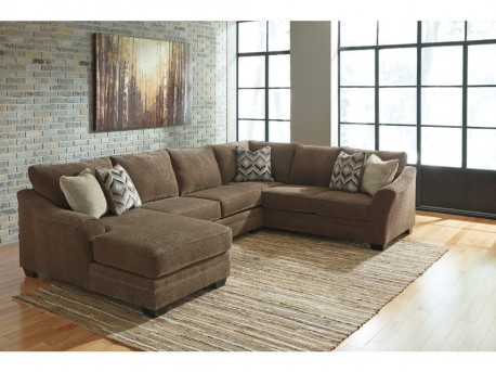 Justyna Teak 3pc Left Arm Facing Corner Chaise Sectional Available Online in Dallas Fort Worth Texas : left chaise sectional - Sectionals, Sofas & Couches