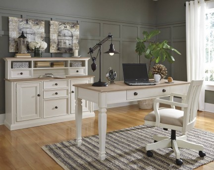 Ashley Sarvanny 2pc Office Suite Available Online in Dallas Fort Worth Texas