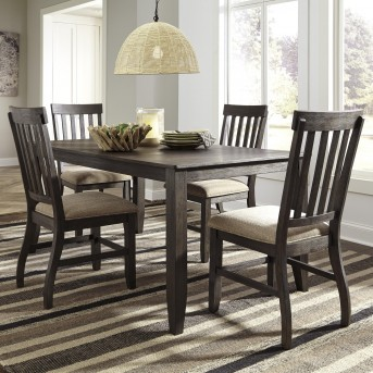 Ashley Dresbar 5pc Brown Dining Room Set Available Online in Dallas Fort Worth Texas