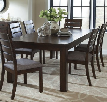 Coaster Wiltshire 7pc Rustic Pecan Dining Room Set Available Online in Dallas Fort Worth Texas