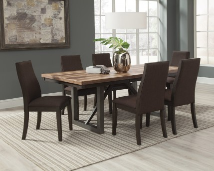 Coaster Spring Creek 7pc Espresso Dining Table Set Available Online in Dallas Fort Worth Texas & Coaster Spring Creek 7pc Espresso Dining Table Set Dallas TX ...