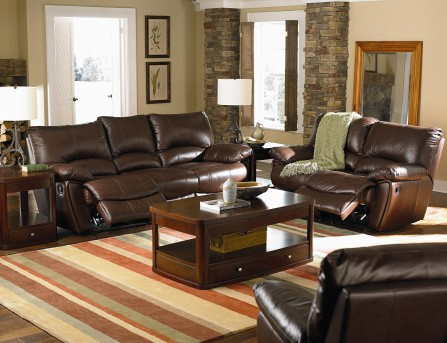 Coaster Clifford 2pc Brown Power Reclining Sofa & Loveseat Set Available Online in Dallas Fort Worth Texas
