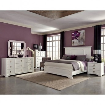 Coaster Furiani 5pc White King Panel Bedroom Group Available Online in Dallas Fort Worth Texas