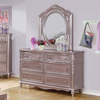 Coaster Caroline Metallic Lilac Dresser Available Online in Dallas Fort Worth Texas