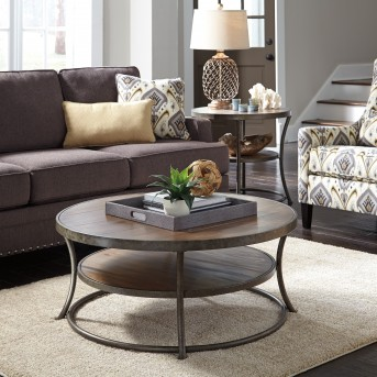 Ashley Nartina 3pc Light Brown Coffee Table Set Available Online in Dallas Fort Worth Texas