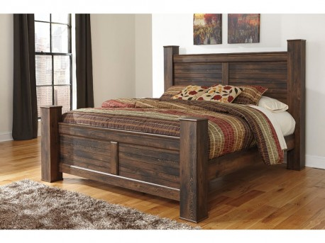 Ashley Quinden King Poster Bed Available Online in Dallas Fort Worth Texas