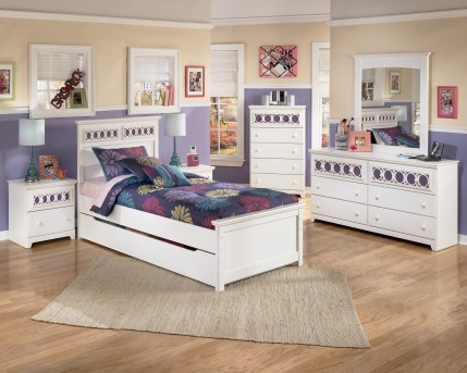 Ashley Zayley 5pc Twin Panel Trundle Bedroom Group Available Online in Dallas Fort Worth Texas