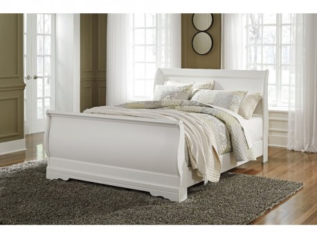 Ashley Anarasia Queen Sleigh Bed Available Online in Dallas Fort Worth Texas