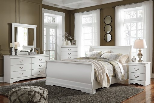 Ashley Anarasia 5pc Queen Sleigh Bedroom Group Available Online in Dallas Fort Worth Texas