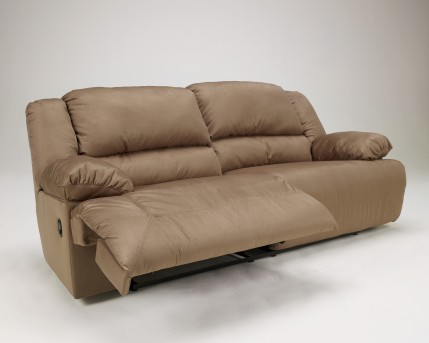 Ashley Hogan Mocha Reclining Sofa Available Online in Dallas Fort Worth Texas