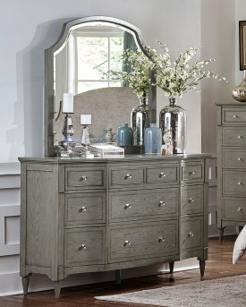 Homelegance Albright Grey Mirror Available Online in Dallas Fort Worth Texas