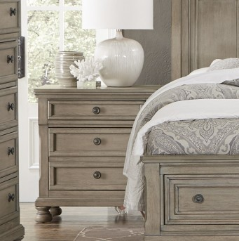 Homelegance Bethel Grey Night Stand Available Online in Dallas Fort Worth Texas
