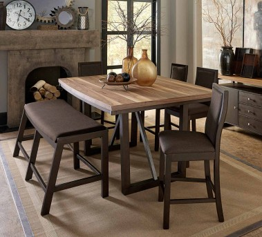 Homelegance Compson 5pc Counter Height Dining Room Set Dallas TX