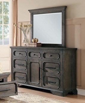 Homelegance Toulon Dark Oak Mirror Available Online in Dallas Fort Worth Texas