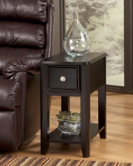 Ashley Breegin Black Chair Side Table Available Online in Dallas Fort Worth Texas