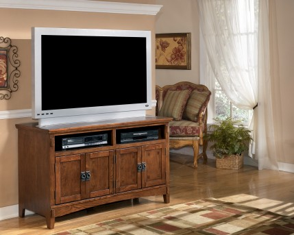 Ashley Cross Island Medium TV Stand Available Online in Dallas Fort Worth Texas