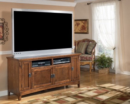 Ashley Cross Island Large TV Stand Available Online in Dallas Fort Worth Texas