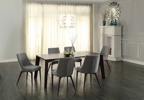 Homelegance Fillmore 7pc Espresso Dining Table Set