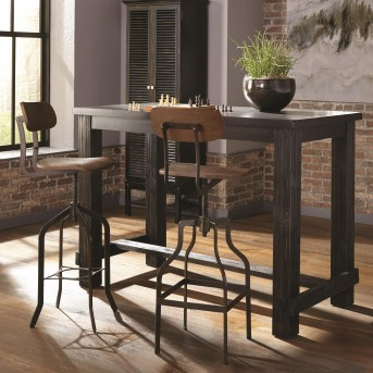 Coaster Jacinto 3pc Antique Black Bar Unit Available Online in Dallas Fort Worth Texas