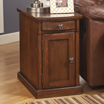 Ashley Laflorn Medium Brown Chair Side Table Available Online in Dallas Fort Worth Texas