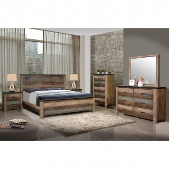 Coaster Sembene 5pc Multicolor Queen Panel Bedroom Group Available Online in Dallas Fort Worth Texas