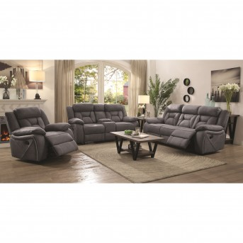 Coaster Houston 2pc Reclining Sofa & Loveseat Set Available Online in Dallas Fort Worth Texas