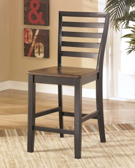 Ashley Alonzo Brown Counter Height Barstool Available Online in Dallas Fort Worth Texas