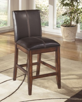 Ashley Larchmont Upholstered Barstool Available Online in Dallas Fort Worth Texas
