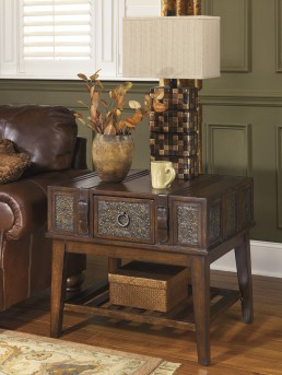 Ashley McKenna End Table Available Online in Dallas Fort Worth Texas