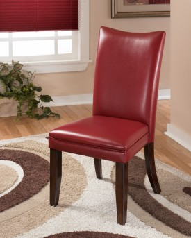 Ashley Charrell Red Side Chair Available Online in Dallas Fort Worth Texas