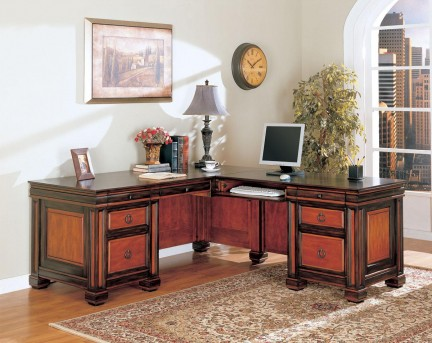 Coaster Tate L-Shape Desk Available Online in Dallas Fort Worth Texas