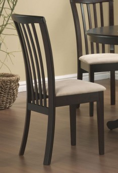 Coaster Brannan Cappuccino Side Chair Available Online in Dallas Fort Worth Texas