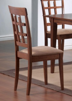Coaster Leigh Wheat Back Side Chair Available Online in Dallas Fort Worth Texas