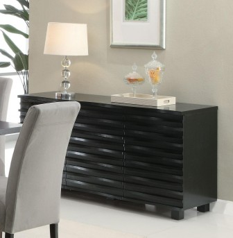 Coaster Stanton Black Server Available Online in Dallas Fort Worth Texas