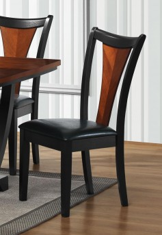 Coaster Boyer Black/Cherry Side Chair Available Online in Dallas Fort Worth Texas